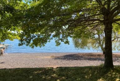 Pucon vendo terreno orilla de lago
